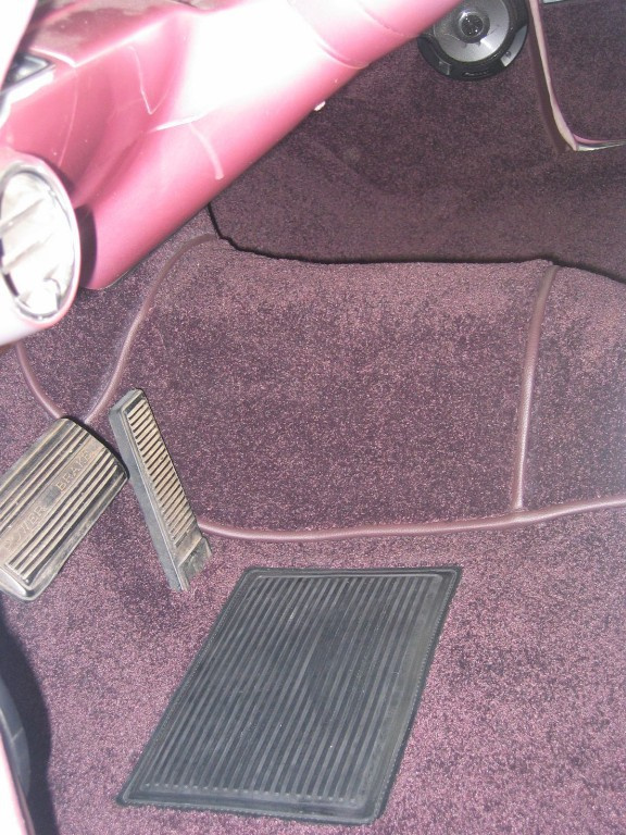Cadillac carpet replaced